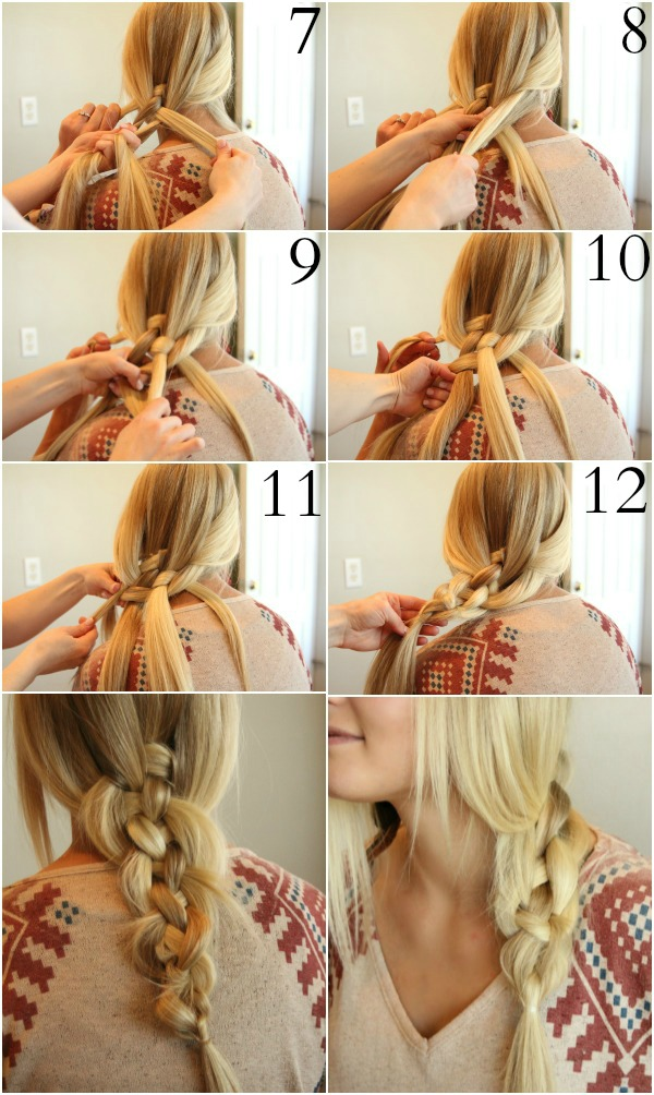 5Strand Braid in 5 Steps! 5 Steps  Instructablescom