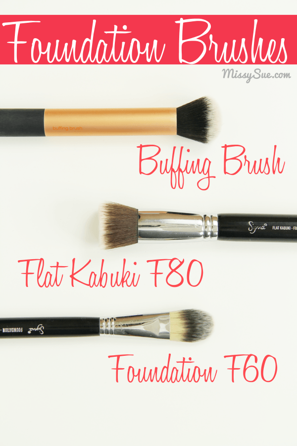 Foundation Brushes 2 Favorite Makeup Brushes