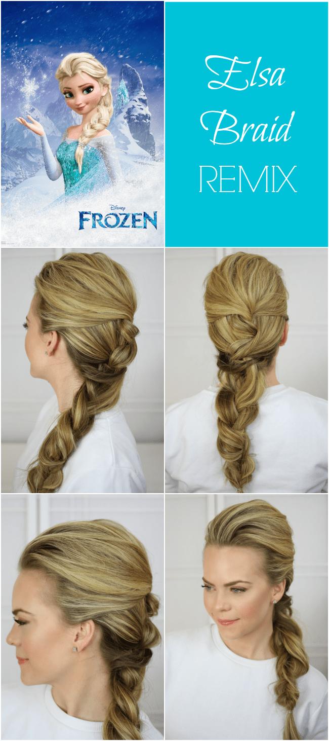 Frozen Elsa Braid
