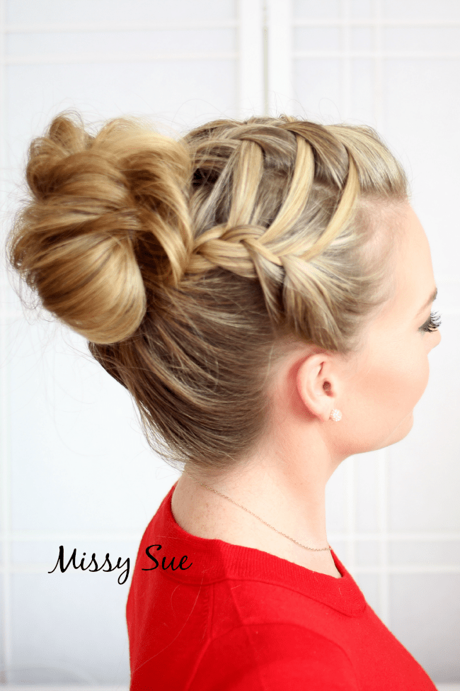double waterfall french braid missysueblog Braid 14 Triple French Braid Double Waterfall