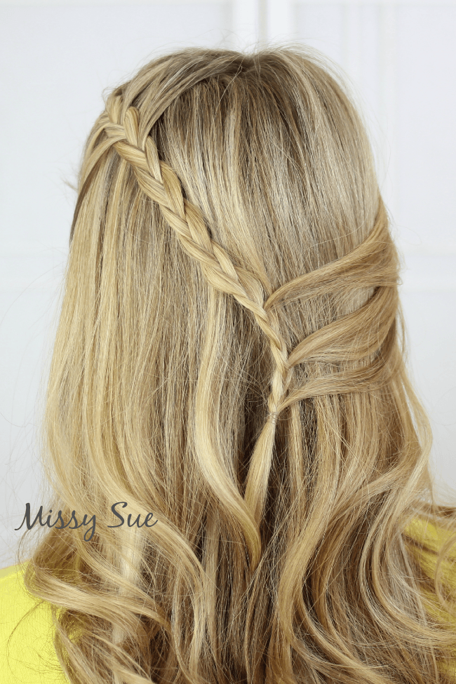 half up bohemian braids missysueblog Braid 4 Half Up Bohemian Braids