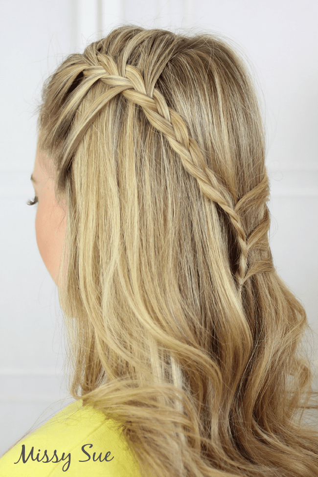 half up boho braids Braid 4 Half Up Bohemian Braids