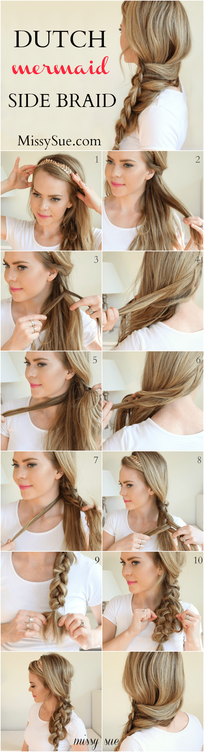 How To French Braid Double Step By Step Solution For How To For How To  French