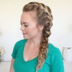 Braid 12-French Braid and Four Strand Side Braid