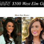 $500 West Elm Gift Card Giveaway
