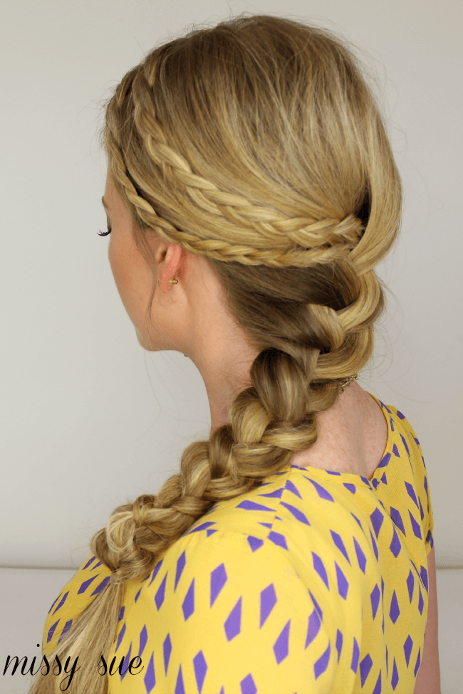 two braids french braid missy sue blog Boho Braid