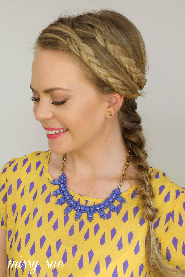 two braids french braid Boho Braid
