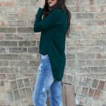 Shop the Look: Green Silk