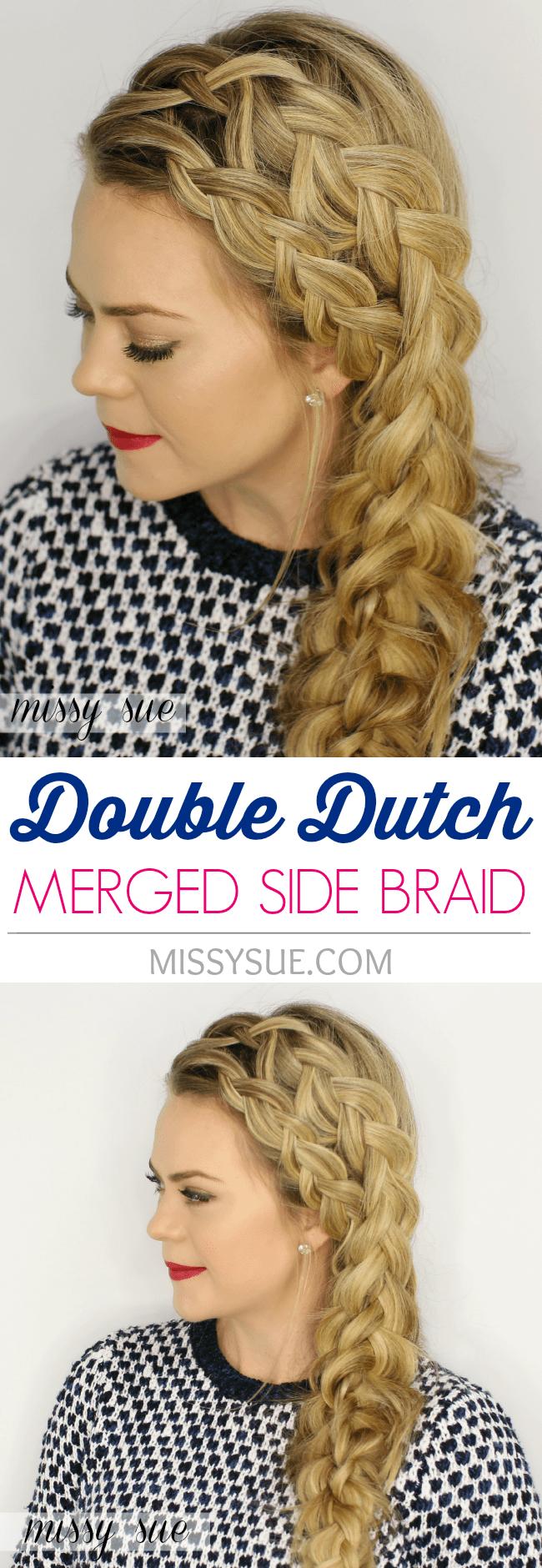 Double Dutch Merged Side Braid