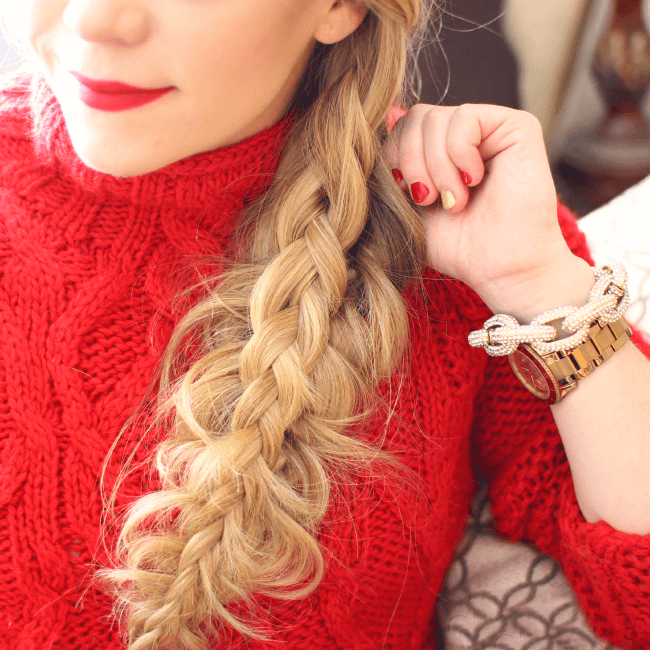 split-braid-red-lips