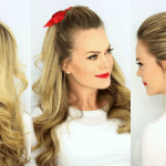 3 Half Updo Hairstyles