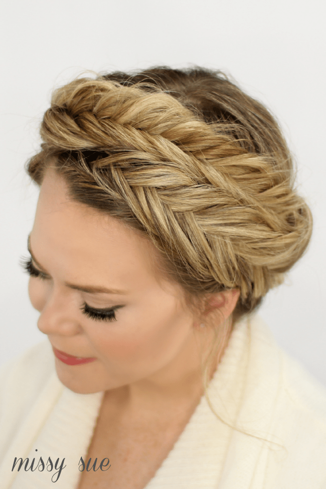Fishtail Crown Braid Missy Sue Bloglovin