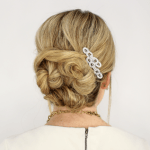 Soft Twisted Updo