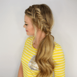 Dutch Fishtail Side Pony