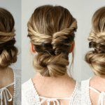 Topsy Tail Updo